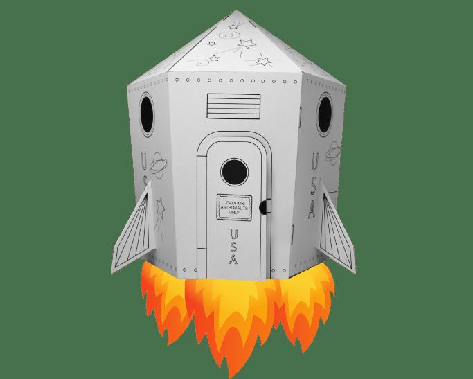 FunDeco Rocketship animation
