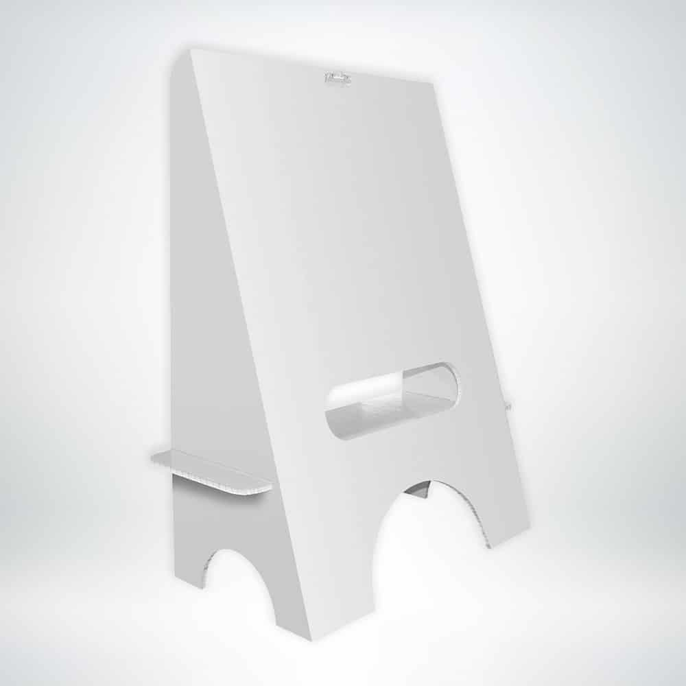 FunDeco Blank Easel front
